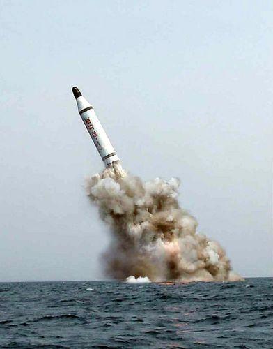 北朝鮮SLBM発射画像が合成である決定的理由